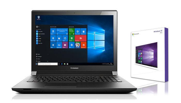 Lenovo Notebook 15,6 Zoll - Intel 2,48 GHz  - 1000 GB - 4 GB - Windows 10 Pro