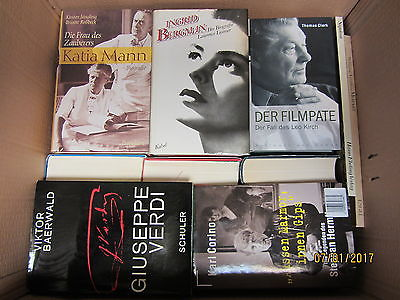 38 Bücher Biografie Biographie Memoiren Autobiografie Lebenserinnerungen