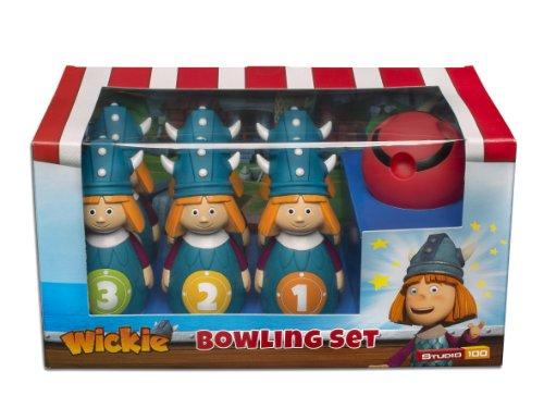 Studio 100 MEVI00000480 - Wickie und die starken Männer: Bowling-Set