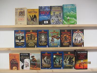Kai Meyer 18 Bücher Fantasy Fantasyromane historische Romane