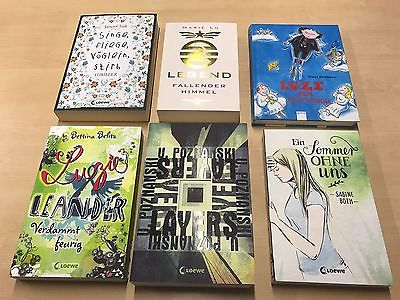 Bücherpaket 16 Bücher, Romane, neu