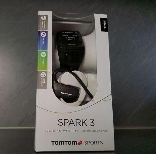 TomTom Spark 3 + Bluetooth Kopfhörer