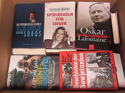 41 Bücher Sachbücher Wissenschaft Wirtschaft Politik Geschichte