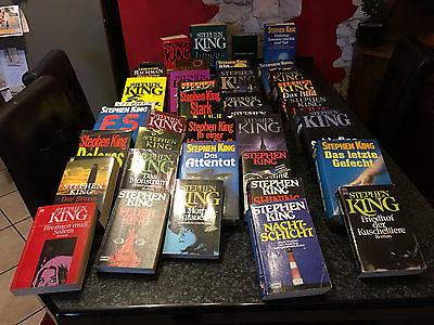 Stephen King Sammlung zum Schnäppchenpreis