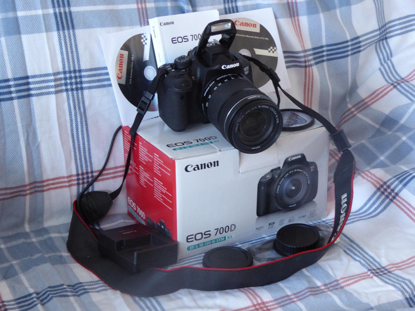 Canon EOS 700D 18.0MP (Kit mit 18-135 mm Canon IS STM Objektiv)