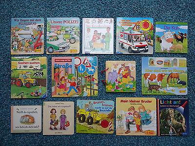 Bücherpaket 29 Kinderbücher Papp-Bilderbücher für kleine Kinder