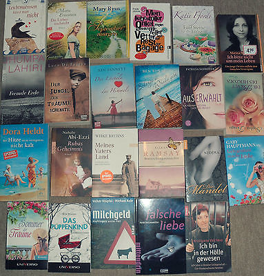 Großes Bücherpaket mit 23 Taschenbüchern! TOP !