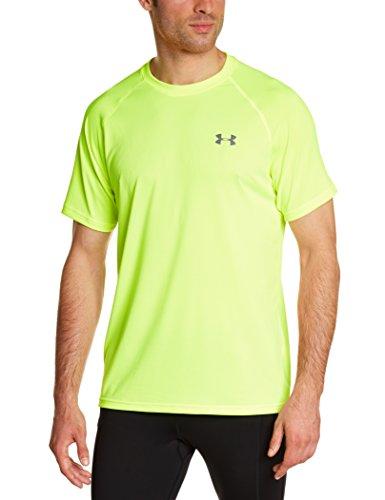 Under Armour Ua Tech Ss Tee Herren Fitness - T-shirts & Tanks, Gelb (High Vis Yellow), S