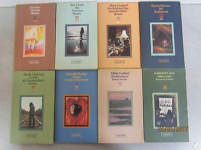 81 Bücher Taschenbücher rororo Verlag Serie neue frau Romane u.a.