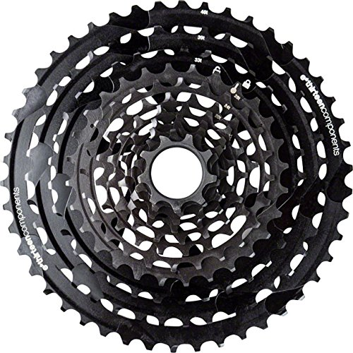 E13fw1tra-100Kassette Fahrrad-Unisex Erwachsene, schwarz