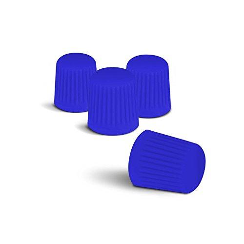 Farbige Ventilkappen (Blau) passend für alle PKW. Ein Highlight für jede Radkappe oder Radzierblende!