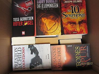 42 Bücher Krimi Thriller Psychothriller Softcover Top Titel Bestseller