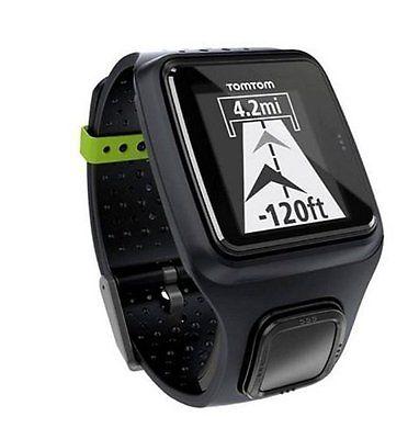 TomTom GPS Sportuhr Runner Tracker, Schwarz, GPS Uhr, Wasserdicht, NEU