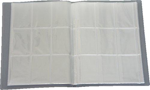 Leere Sammelmappe - 26 Seiten (468 Karten) - Ideal für Sammel Bilder/Karten - Farbe Neutral