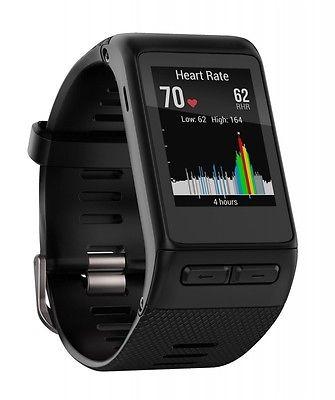 GARMIN VIVOACTIVE HR MULTI SPORT WATCH XL GPS ACTIVITY TRACKER SMART UHR SCHWARZ