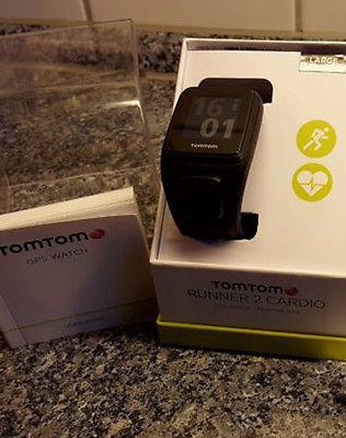 TomTom Runner Cardio 2 - GPS Uhr Fitness Laufen HR / wie neu