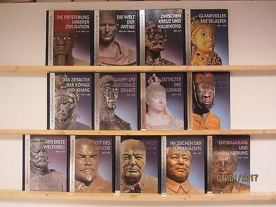 Illustrierte Geschichte der Welt 13 Bücher Bildbände Weltgeschichte