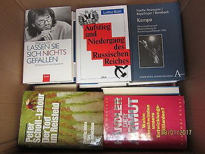 42 Bücher Sachbücher Wissenschaft Wirtschaft Politik Geschichte