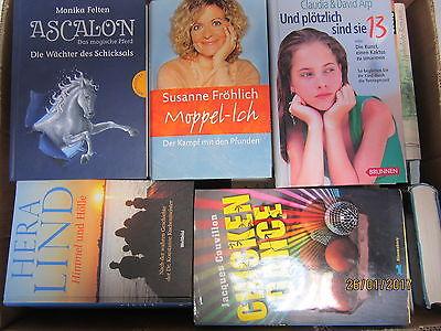 52  Bücher Hardcover Romane Sachbücher verschiedene Themen Paket 3