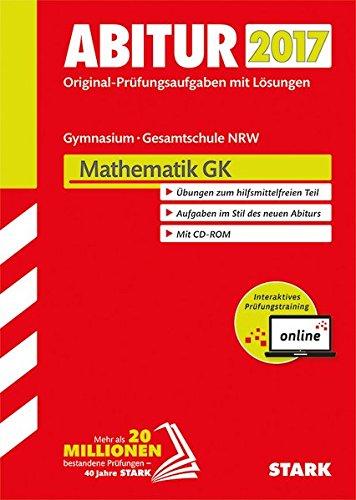 Abiturprüfung Nordrhein-Westfalen - Mathematik GK inkl. Online-Prüfungstraining