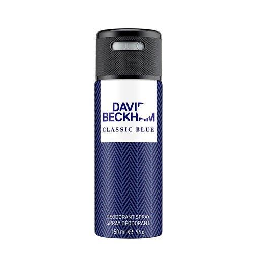 David Beckham Classic Blue Deo Body Spray 150 ml, 1er Pack (1 x 150 ml)