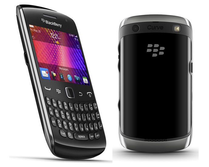 BlackBerry Curve 9360 Black Unlocked smart mobile phone Good