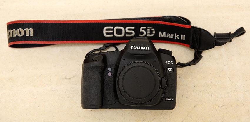 Canon EOS 5D Mark 2, EOS 5D Mark II, Digitalkamera, DSLR - Body