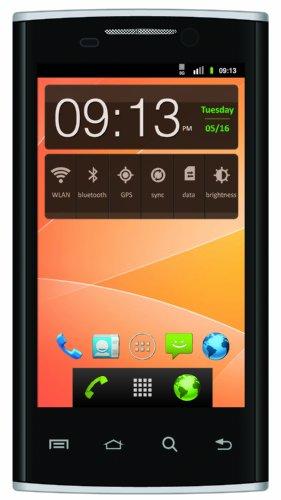 Tecmobile TEC/OP8002BK2 Opal 800 Smartphone (10,2 cm (4 Zoll) Touchscreen, 5 Megapixel Kamera, Dual-SIM, Android 2.3) schwarz