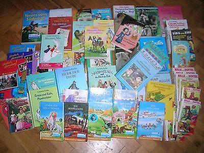 60 Bücher / Bücherpaket für Mädchen / Pferdebücher u.a.