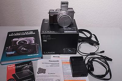 Panasonic Kamera LUMIX DMC-LX 100, silber,  Top !!!
