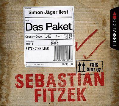 Sebastian Fitzek ; Das Paket ;  Hörbuch; 6 CDs
