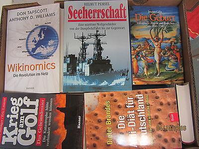 39 Bücher Sachbücher Wissenschaft Wirtschaft Politik Paket 2