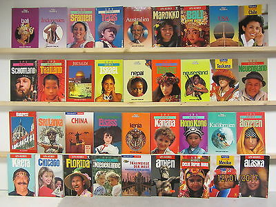 36 Bücher Reiseführer Apa Guides nationale und internationale Reiseführer