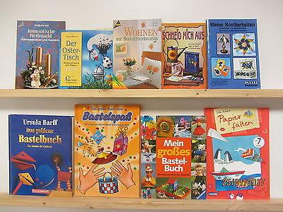 105 Bücher Bastelbücher Bastelhefte Papierfalten Windowcolor Weihnachtsbasteln