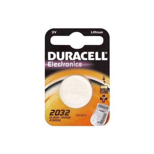 Duracell DL2032 / CR2032 Lithium-Knopfzelle, 3V, 1er