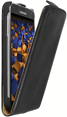 mumbi PREMIUM Leder Flip Case Samsung Galaxy S5 / S5 Neo Tasche slim
