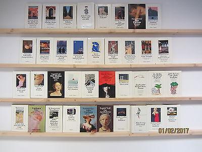 37 Bücher Romane Diogenes Verlag Hardcover