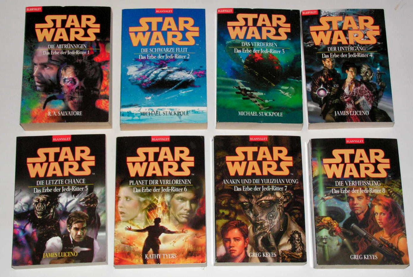 STAR WARS Das Erbe der Jedi Ritter  Band 1 - 18