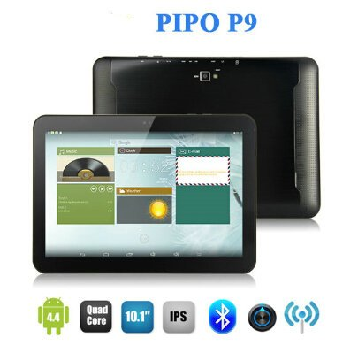 PIPO M9 pro 3G - 10,1 Retina IPS-Display (1920 * 1200px) Quad Core 1.8GHz 3G Tablet PC Android 4.2 2GB RAM Bluetooth GPS Dual-Kamera 5MP AF Aluminiumoberteil 32GB interner