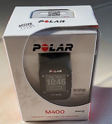 Polar M400 Pulsuhr mit H7 Sensor schwarz, OVP
