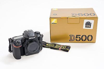 Nikon D500 Body, neuwertig
