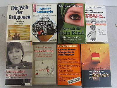 127 Bücher Taschenbücher verschiedene Verlage