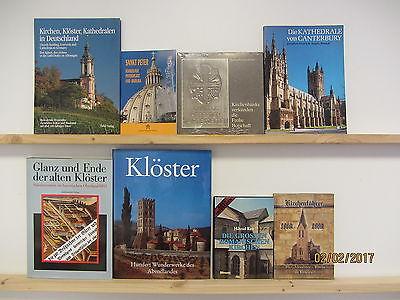 62 Bücher Hefte Kirchen Klöster Abteien Kathedralen Kirchenführer