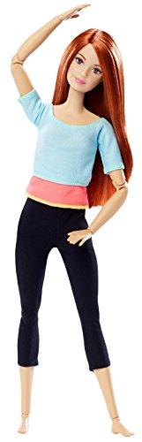 Mattel Barbie DPP74 - Barbie Made to Move mit rotem Haar