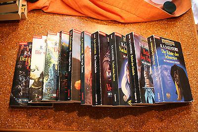 Fantasy Paket R.A.Salvatore: Verg. Welten 1-10, Dämonendämmerung 1-7, Dunkelelf