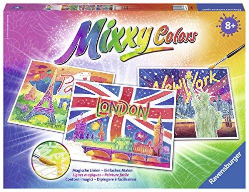 Ravensburger Mixxy Colors 29491 - Weltstädte, Malsets