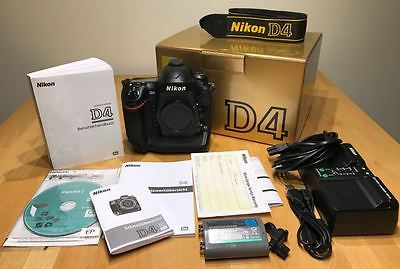 Nikon D D4 16.2 MP SLR-Digitalkamera - Schwarz (Nur Gehäuse) - 23.861 Klicks