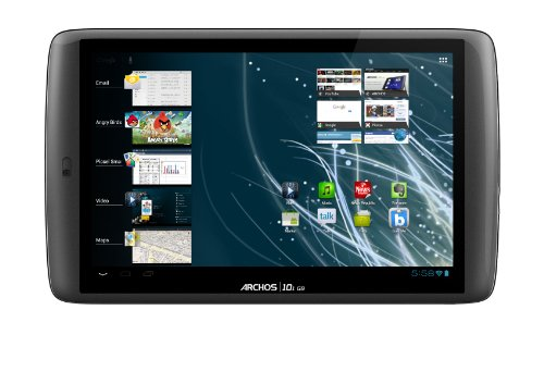 Archos 101 G9 Turbo 16GB, 25,65 cm (10.1 Zoll) Multitouch, Android 4.0, 1.2GHz, WiFi-n, UMTS(3G) optional, HDMI, USB
