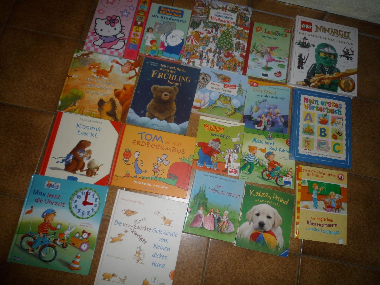Sammlung Paket Bilderbücher Bücher Kinder 19 Stück Kinderbücher