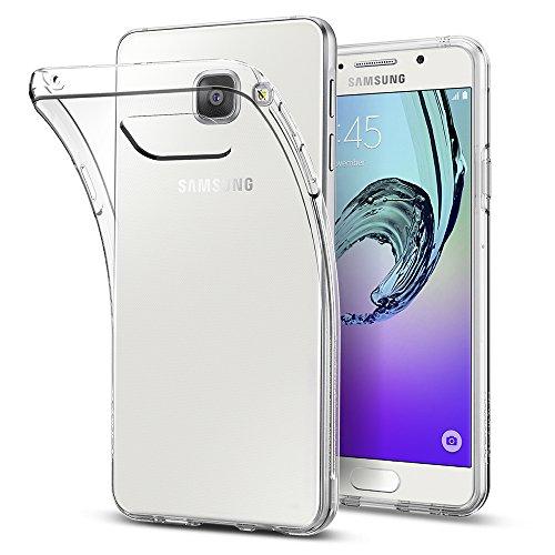 Samsung Galaxy A3 2016 Hülle, Spigen® [Liquid Crystal] Ultra Dünn [Crystal Clear] Transparent Soft-Flex Handyhülle / Bumper-Style Premium-TPU Silikon / Perfekte Passform / Durchsichtige Schutzhülle für Samsung Galaxy A3 2016 Case, Samsung Galaxy A3 2016 C